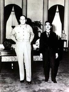 MacArthur and Hirohito